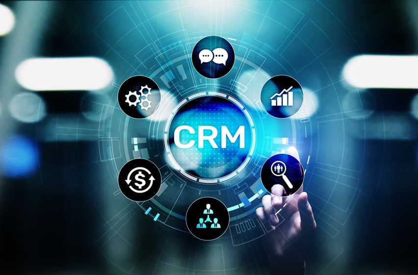 CRM with time recording and invoicing
